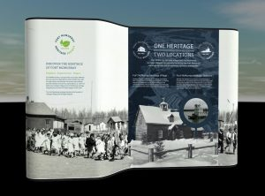 Fort McMurray Heritage Society collateral